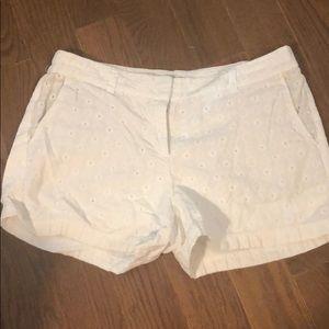 Loft Eyelet Shorts